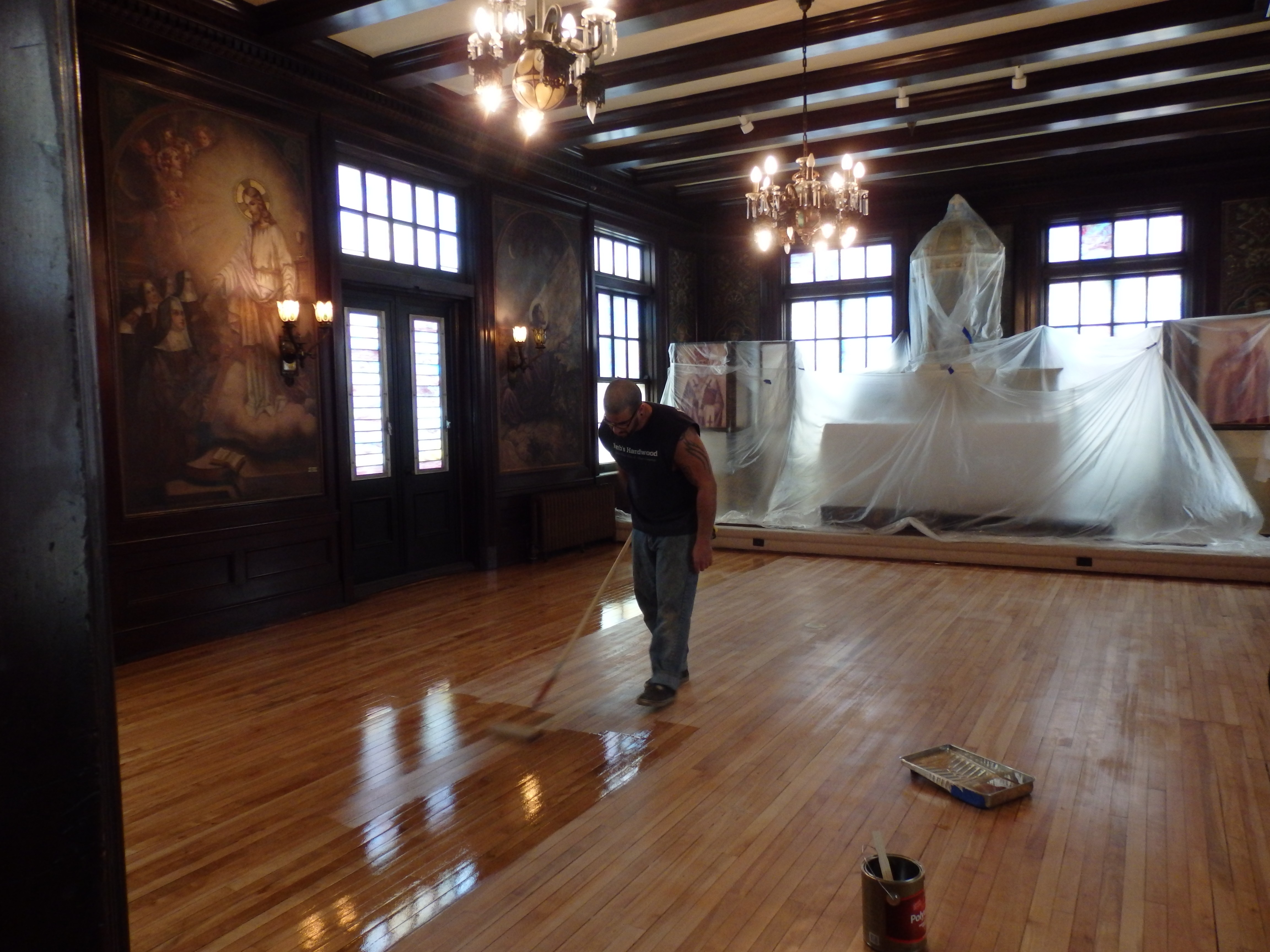 Flooding Causes Renovations to the House of Prayer Chapel ...