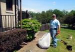 Volunteer Michael Moyta
