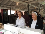 Sister Sylvia and Sister Margaret at Light Lunch