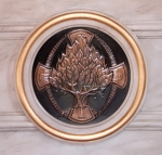 The Burning Bush plaque from the Altar