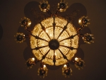 Chandelier in the House of Prayer